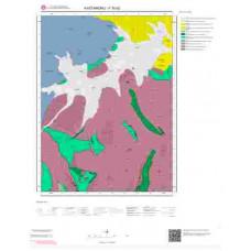 F30b2 Paftası 1/25.000 Ölçekli Vektör Jeoloji Haritası