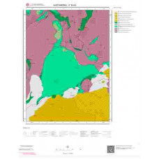 F30b3 Paftası 1/25.000 Ölçekli Vektör Jeoloji Haritası