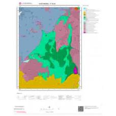 F30b4 Paftası 1/25.000 Ölçekli Vektör Jeoloji Haritası