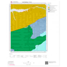 F30c1 Paftası 1/25.000 Ölçekli Vektör Jeoloji Haritası