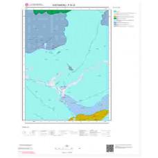 F30c4 Paftası 1/25.000 Ölçekli Vektör Jeoloji Haritası
