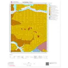 F30d1 Paftası 1/25.000 Ölçekli Vektör Jeoloji Haritası