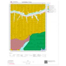 F30d2 Paftası 1/25.000 Ölçekli Vektör Jeoloji Haritası
