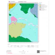 F30d3 Paftası 1/25.000 Ölçekli Vektör Jeoloji Haritası