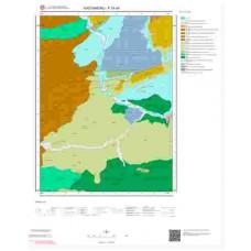 F30d4 Paftası 1/25.000 Ölçekli Vektör Jeoloji Haritası