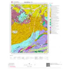 F31 Paftası 1/100.000 Ölçekli Vektör Jeoloji Haritası