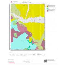 F31a2 Paftası 1/25.000 Ölçekli Vektör Jeoloji Haritası
