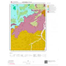 F31a3 Paftası 1/25.000 Ölçekli Vektör Jeoloji Haritası