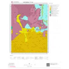 F31a4 Paftası 1/25.000 Ölçekli Vektör Jeoloji Haritası