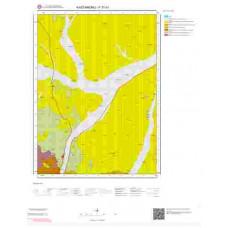 F31b1 Paftası 1/25.000 Ölçekli Vektör Jeoloji Haritası