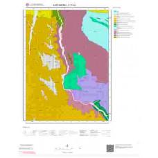 F31b3 Paftası 1/25.000 Ölçekli Vektör Jeoloji Haritası