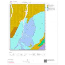 F31c1 Paftası 1/25.000 Ölçekli Vektör Jeoloji Haritası