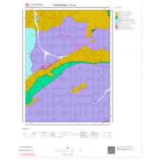 F31c2 Paftası 1/25.000 Ölçekli Vektör Jeoloji Haritası