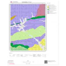 F31c3 Paftası 1/25.000 Ölçekli Vektör Jeoloji Haritası