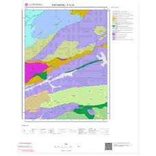 F31c4 Paftası 1/25.000 Ölçekli Vektör Jeoloji Haritası