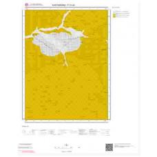F31d1 Paftası 1/25.000 Ölçekli Vektör Jeoloji Haritası