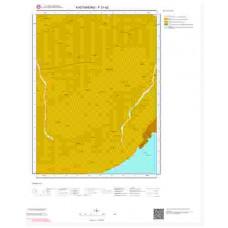 F31d2 Paftası 1/25.000 Ölçekli Vektör Jeoloji Haritası