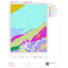 F31d3 Paftası 1/25.000 Ölçekli Vektör Jeoloji Haritası