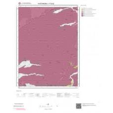 F32b2 Paftası 1/25.000 Ölçekli Vektör Jeoloji Haritası