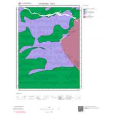 F32c1 Paftası 1/25.000 Ölçekli Vektör Jeoloji Haritası