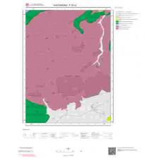 F32c2 Paftası 1/25.000 Ölçekli Vektör Jeoloji Haritası
