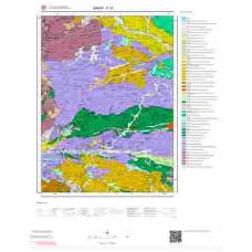 F33 Paftası 1/100.000 Ölçekli Vektör Jeoloji Haritası