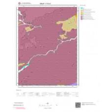 F33a1 Paftası 1/25.000 Ölçekli Vektör Jeoloji Haritası