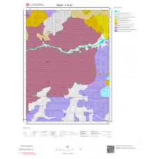 F33a2 Paftası 1/25.000 Ölçekli Vektör Jeoloji Haritası