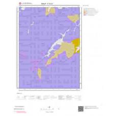 F33a3 Paftası 1/25.000 Ölçekli Vektör Jeoloji Haritası