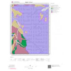 F33a4 Paftası 1/25.000 Ölçekli Vektör Jeoloji Haritası