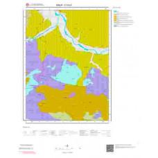 F33b1 Paftası 1/25.000 Ölçekli Vektör Jeoloji Haritası