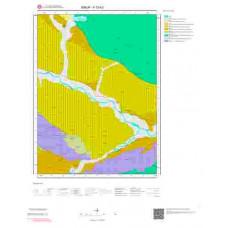 F33b2 Paftası 1/25.000 Ölçekli Vektör Jeoloji Haritası
