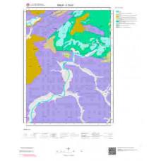 F33b3 Paftası 1/25.000 Ölçekli Vektör Jeoloji Haritası
