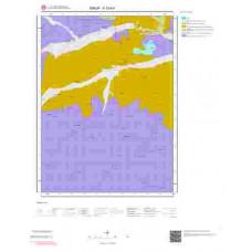 F33b4 Paftası 1/25.000 Ölçekli Vektör Jeoloji Haritası