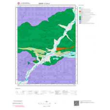 F33c1 Paftası 1/25.000 Ölçekli Vektör Jeoloji Haritası