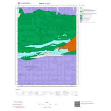 F33c2 Paftası 1/25.000 Ölçekli Vektör Jeoloji Haritası