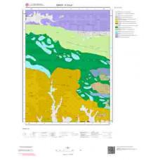 F33c3 Paftası 1/25.000 Ölçekli Vektör Jeoloji Haritası