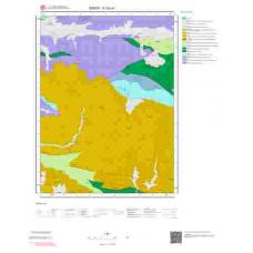 F33c4 Paftası 1/25.000 Ölçekli Vektör Jeoloji Haritası