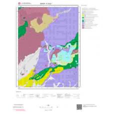 F33d1 Paftası 1/25.000 Ölçekli Vektör Jeoloji Haritası