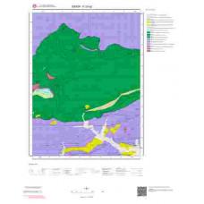 F33d2 Paftası 1/25.000 Ölçekli Vektör Jeoloji Haritası