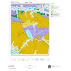 F33d3 Paftası 1/25.000 Ölçekli Vektör Jeoloji Haritası