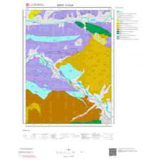 F33d4 Paftası 1/25.000 Ölçekli Vektör Jeoloji Haritası
