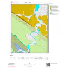 F35b1 Paftası 1/25.000 Ölçekli Vektör Jeoloji Haritası