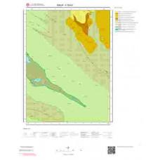 F35b3 Paftası 1/25.000 Ölçekli Vektör Jeoloji Haritası