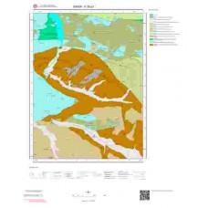 F35d1 Paftası 1/25.000 Ölçekli Vektör Jeoloji Haritası