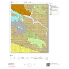 F35d3 Paftası 1/25.000 Ölçekli Vektör Jeoloji Haritası