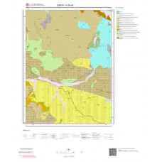 F35d4 Paftası 1/25.000 Ölçekli Vektör Jeoloji Haritası