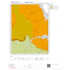F36a3 Paftası 1/25.000 Ölçekli Vektör Jeoloji Haritası
