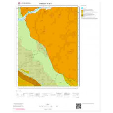 F 36-c1 Paftası 1/25.000 ölçekli Jeoloji Haritası