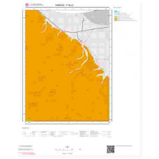 F36c2 Paftası 1/25.000 Ölçekli Vektör Jeoloji Haritası